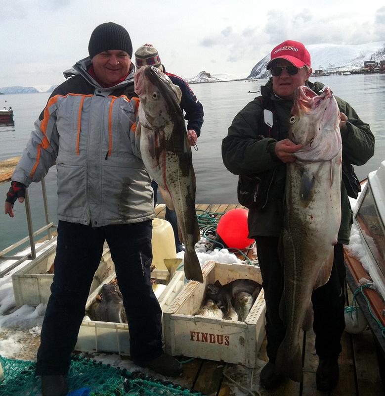 рыбалка в хоннингсвог