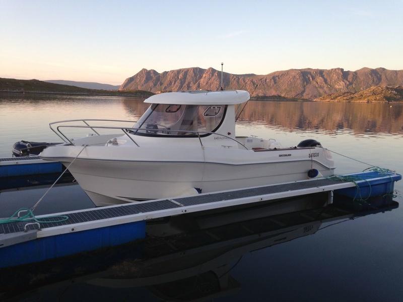 Оборудованные катера для рыбалки